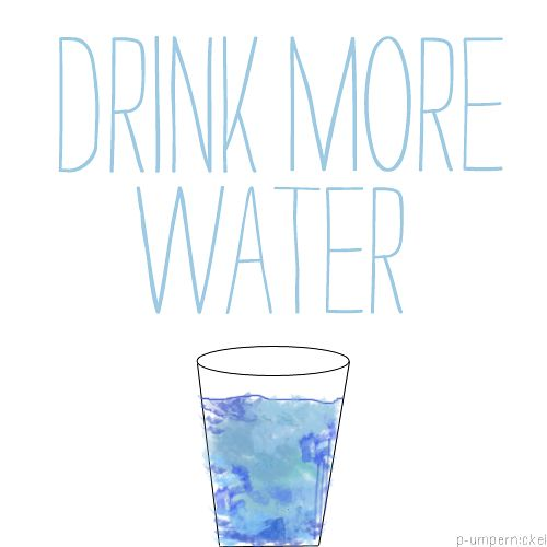 Drink More Water Motivation