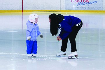 UBC Ice skating hockey