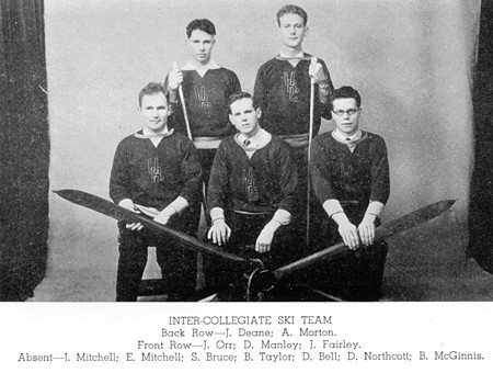 1934 UBC Inter Collegiate Ski Team