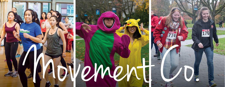 Movement Co | UBC Recreation's free social club