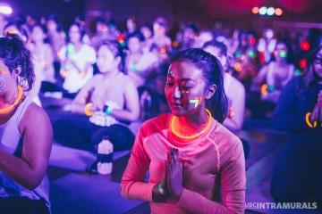 UBC Intramural's Yoga Rave.