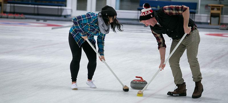 UBC Recreation's Curling Bonspeil | Photo Cred: Bronwyn Davies