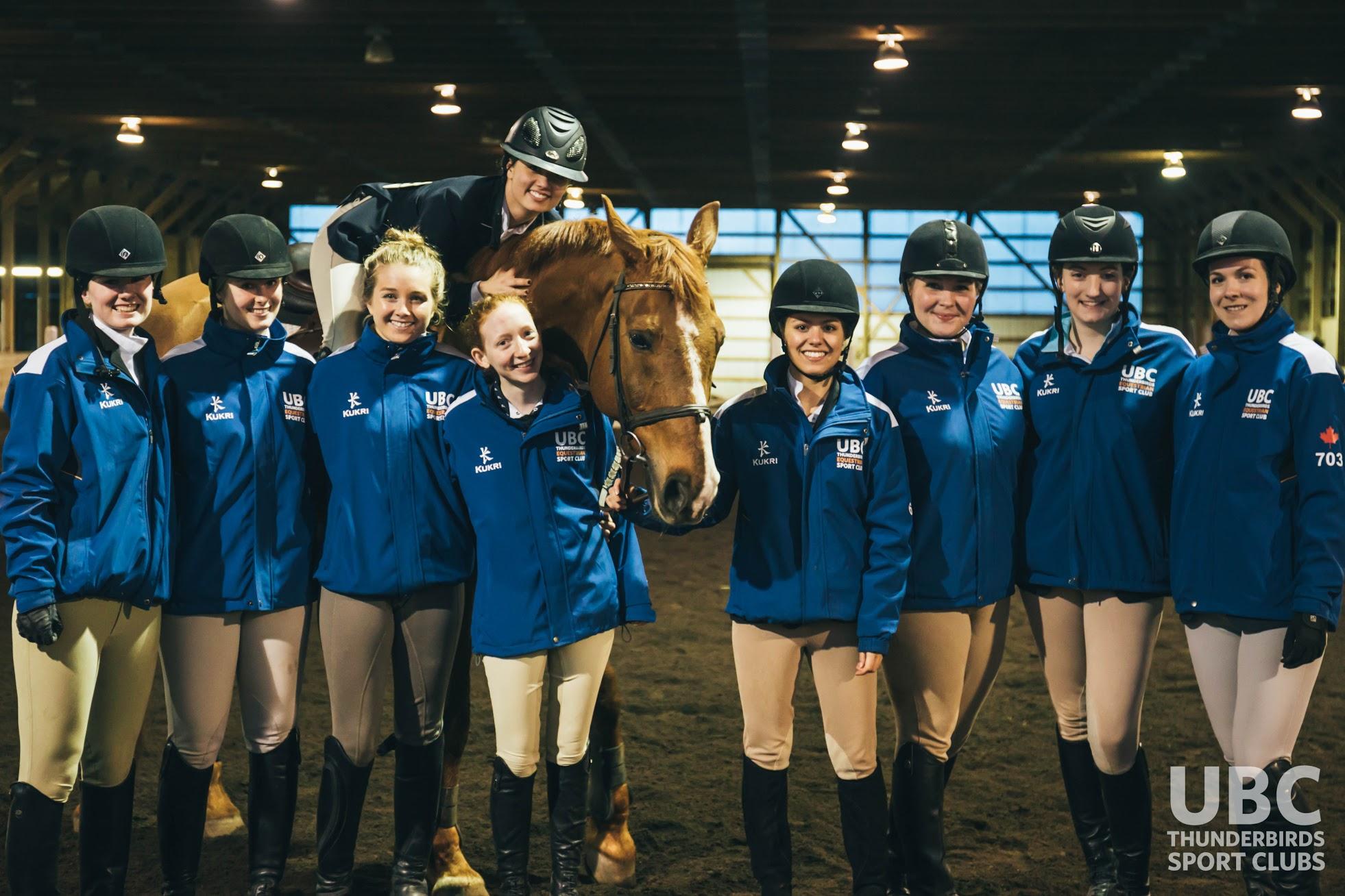 Equestrian Ubc Thunderbirds Sport Clubs