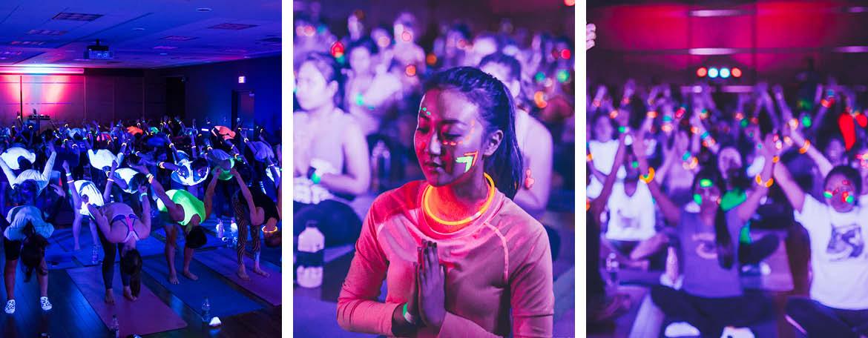 UBC Recreation's Yoga Rave