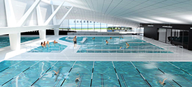 The New UBC Aquatic Centre - Opening January 2017