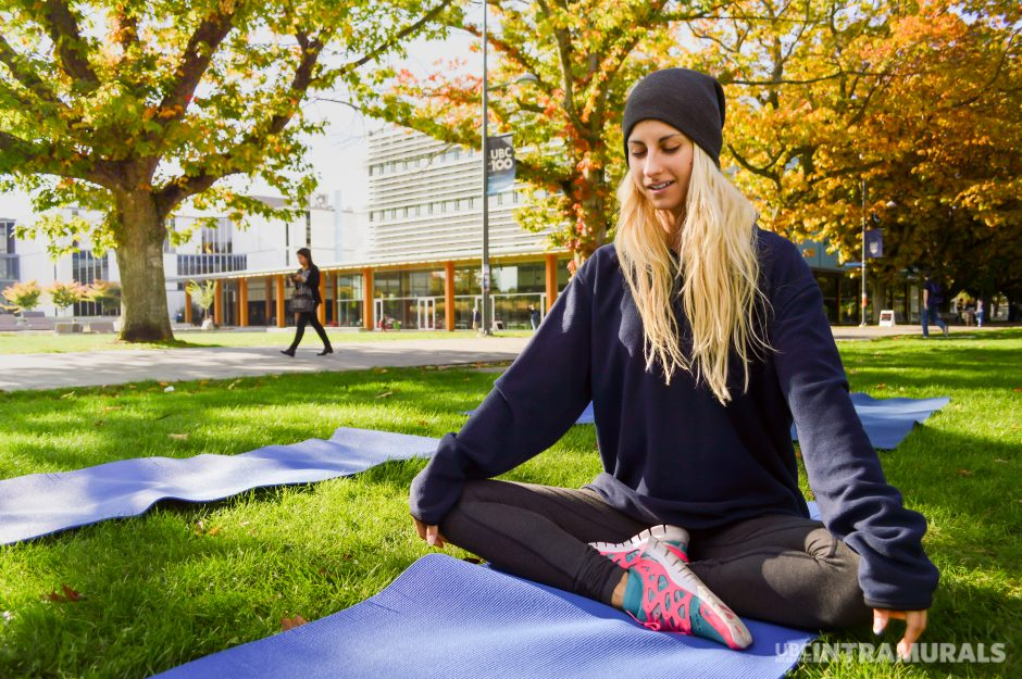 Wake up with Yoga on the Plaza