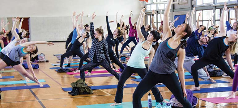 One Pass, Unlimited Yoga & Pilates | UBC Recreation