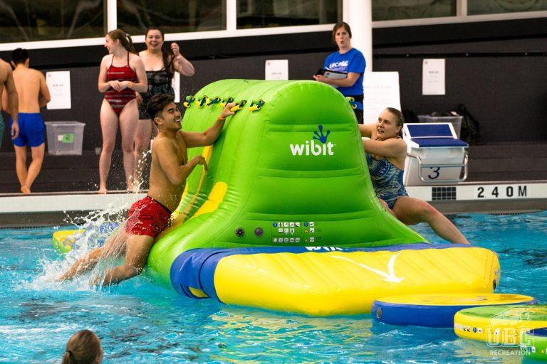 UBC Aquatic Centre - Wibit Inflatable Obstacle Course