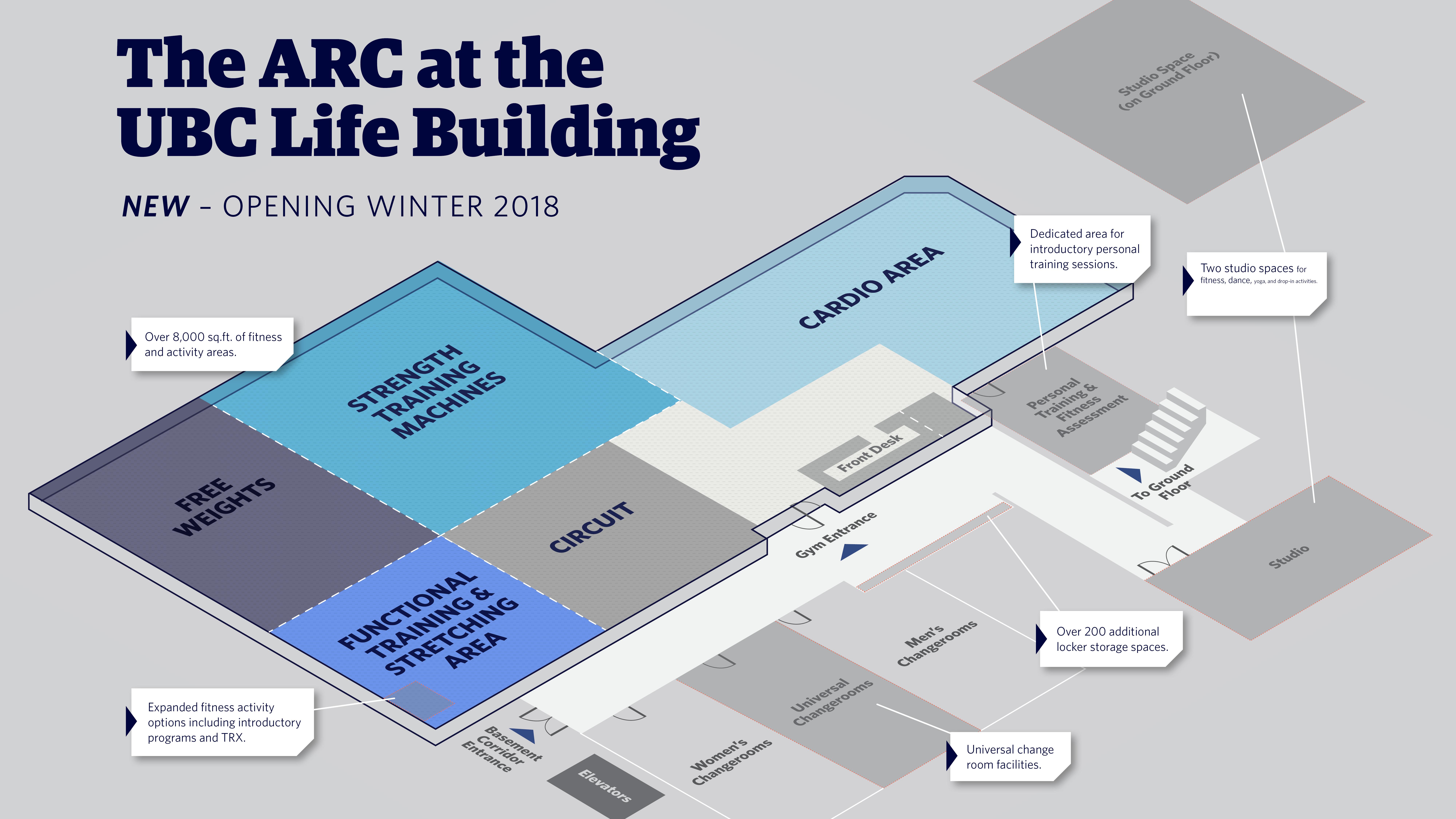 January 2018 - ARC floorplan