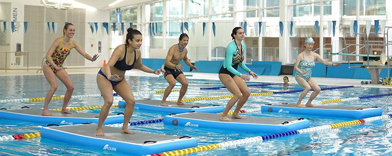 HydroBoard Fitness Classes at the UBC Aquatic Centre