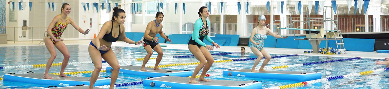 Hydroboard Aqua Fitness Programs | UBC Aquatic Centre