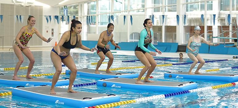 Hydro Board Fitness & Yoga Classes at the UBC Aquatic Centre