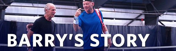 Barry's Story | UBC Tennis Centre