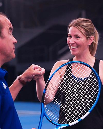 Jackie's Story | UBC Tennis Centre