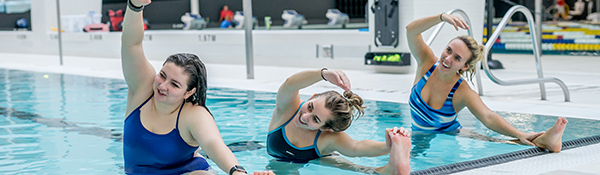 Aqua Yoga | Aqua Fitness at the UBC Aquatic Centre