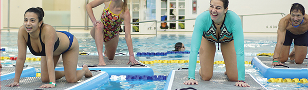 Hydro Board Fitness | Aqua Fitness at the UBC Aquatic Centre