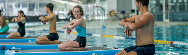 Hydro Board Yoga | Aqua Fitness at the UBC Aquatic Centre