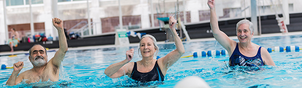 Seniors Fitness | Aqua Fitness at the UBC Aquatic Centre