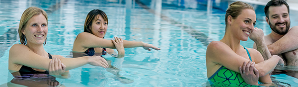 Shallow Aqua Fitness | Aqua Fitness at the UBC Aquatic Centre