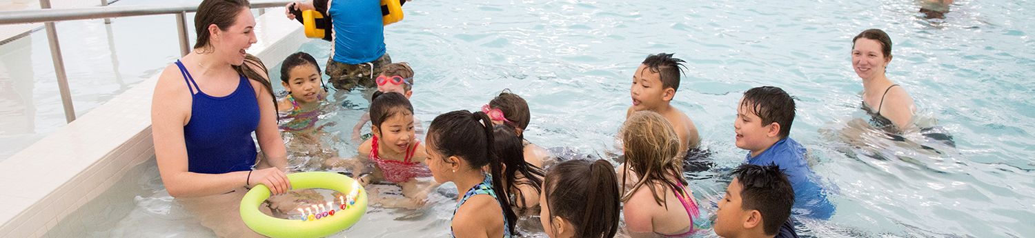 Birthday Parties at the UBC Aquatic Centre