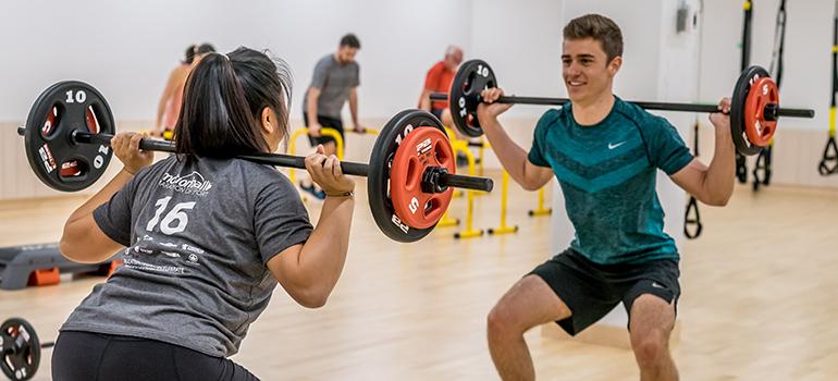 Fitness Shoot Students