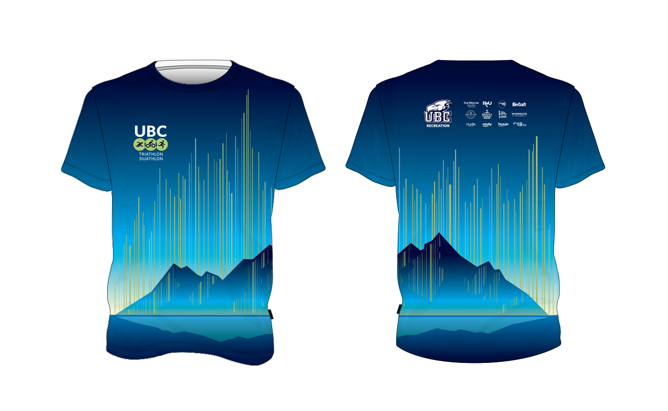 UBC Triathlon Duathlon Commemorative T Shirt 2020