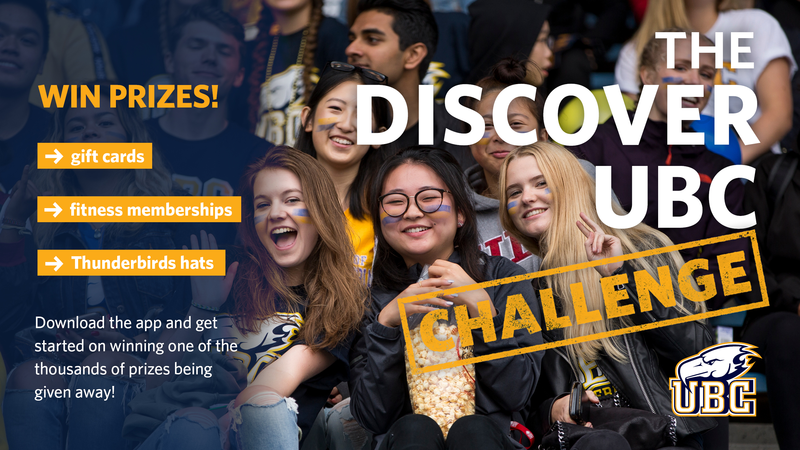Discover UBC challenge information